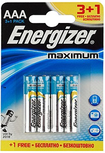 Energizer Maximum Alkaline LR-3/ 3+1/48 (шт.)