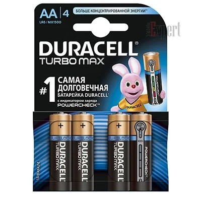 Duracell LR-6 TurboMax 1*(6+2) /96/ (шт.)