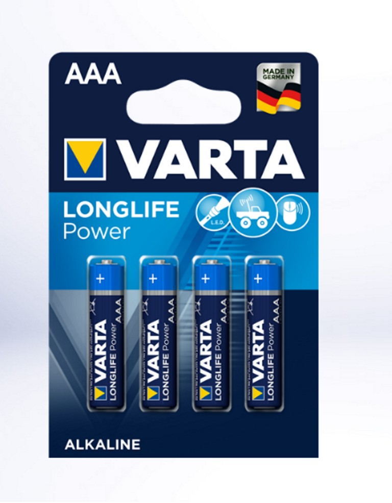 Varta LR3 Longlife Power  (8+4)/  (04903121472) (шт.)